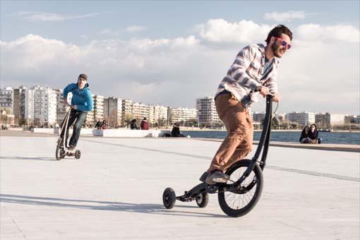 人気沸騰の立ち乗り3輪自転車!Halfbike2が話題になっている件