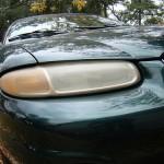 目が死んでいる!ヘッドライト劣化による黄ばみが車を殺す件