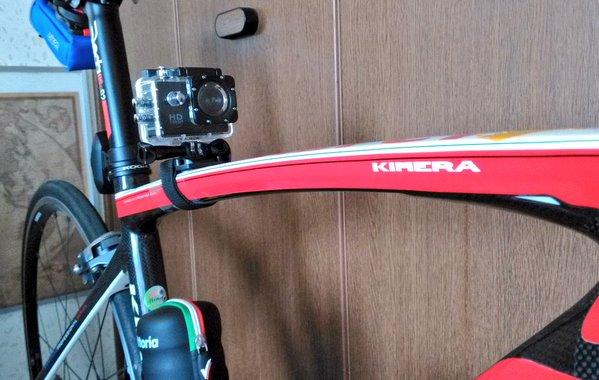 中華スポーツカム!偽物SJ4000でロードバイクの走行動画を撮影した件