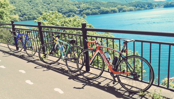 快晴の2016!第35回桧原湖一周ファミリーサイクリング大会に参加した件