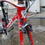 ロードバイクの洗い方!スポーツ自転車の洗車方法はサビに注意の巻