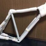 シクロクロス車作り(その1)PAXサイクルから無塗装フレームが来た件