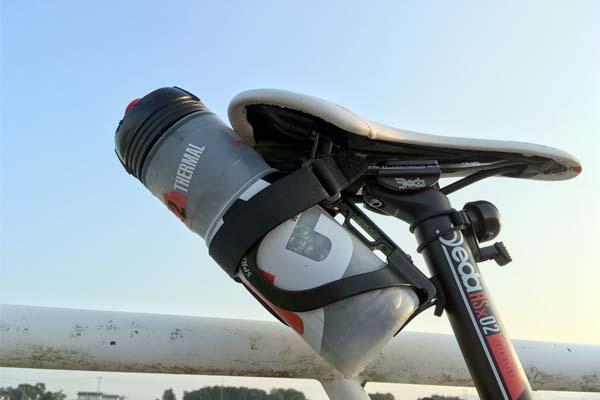 ロードバイクのボトルケージを3つに増やす!熱中症対策の水分増し増し作戦