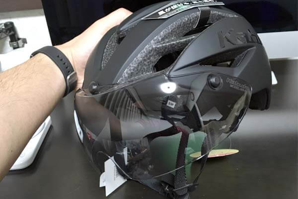 エアロヘルメットがキター!軽く涼しいと話題のOGK AERO-R1開封の儀
